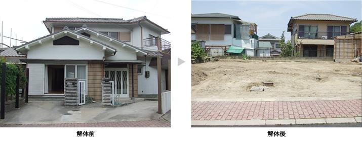 交野市 M様 木造2階建 40坪 費用:100万円 工事期間:10日間